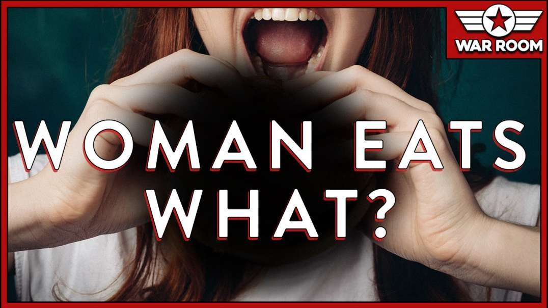WTF Clip Of The Week- Woman Eats What-!-.mp4