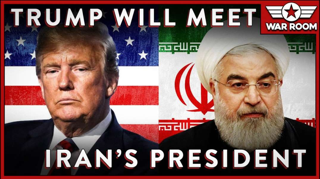 President Trump Says He Will Meet With The President Of Iran