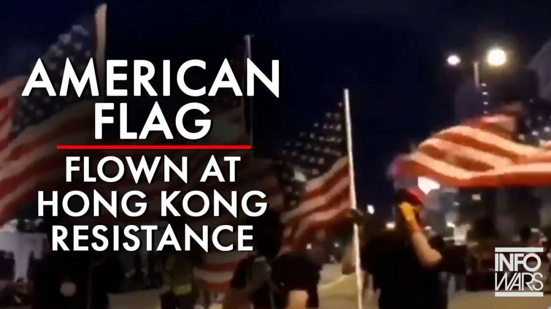 American Flags And Pepe The Frog, New Symbols Of Hong Kong Resistance