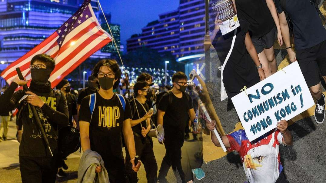 Hong Kong Protestors Fighting for Liberties No Longer Valued by Most Americans - FB.mp4