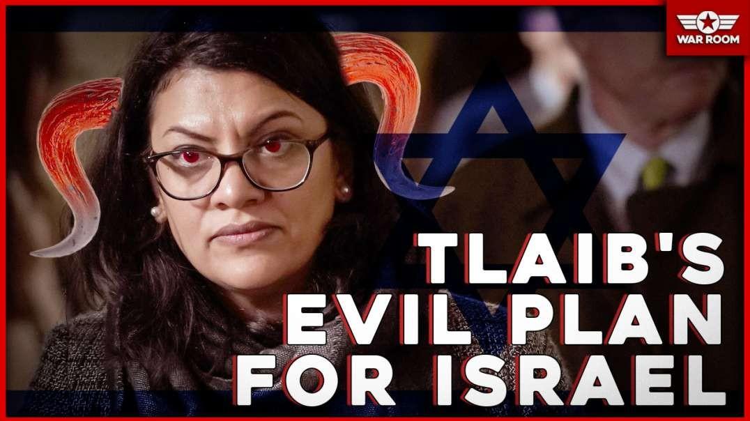 Rashida Tlaib Evil Plan For Israel And President Trump's Destruction.mp4