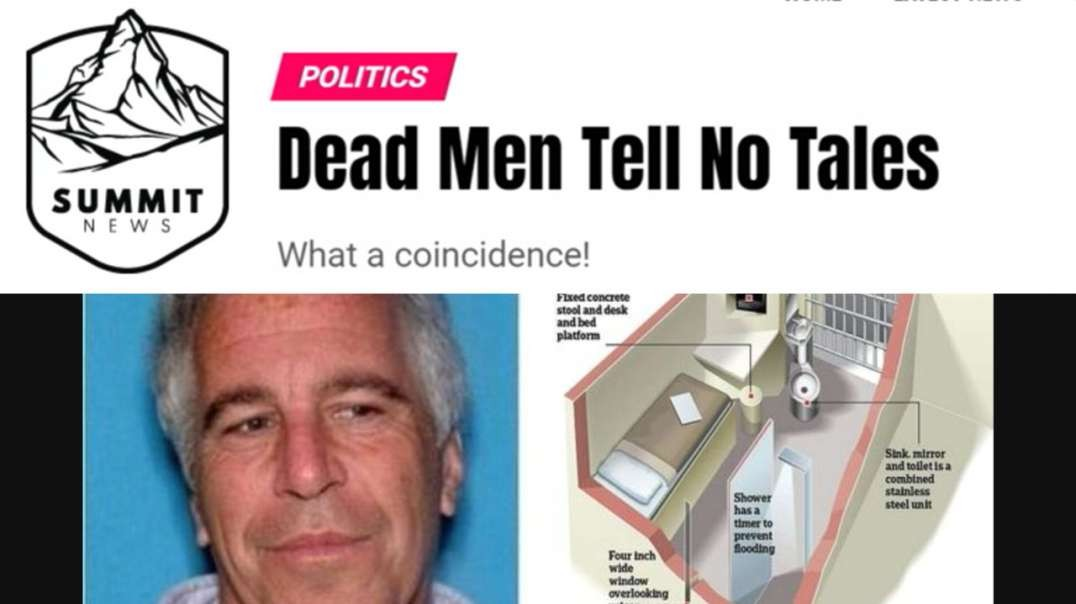 Main Stream Media Attempts Blatant Cover-Up Of Real Jeff Epstein