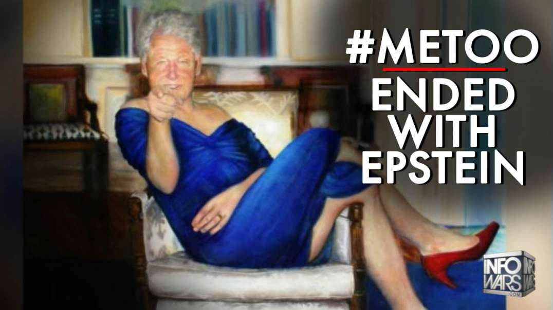 The #Metoo Movement Stopped At Jeffery Epstein's Sex Trafficking Island