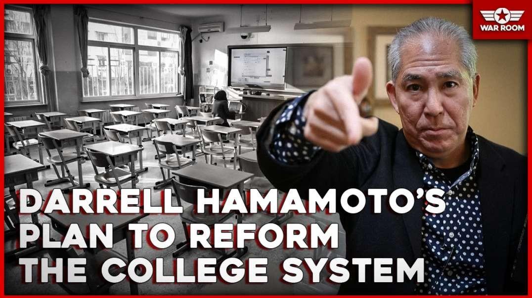 Professor Darrell Hamamoto's Plan To Reform The College System