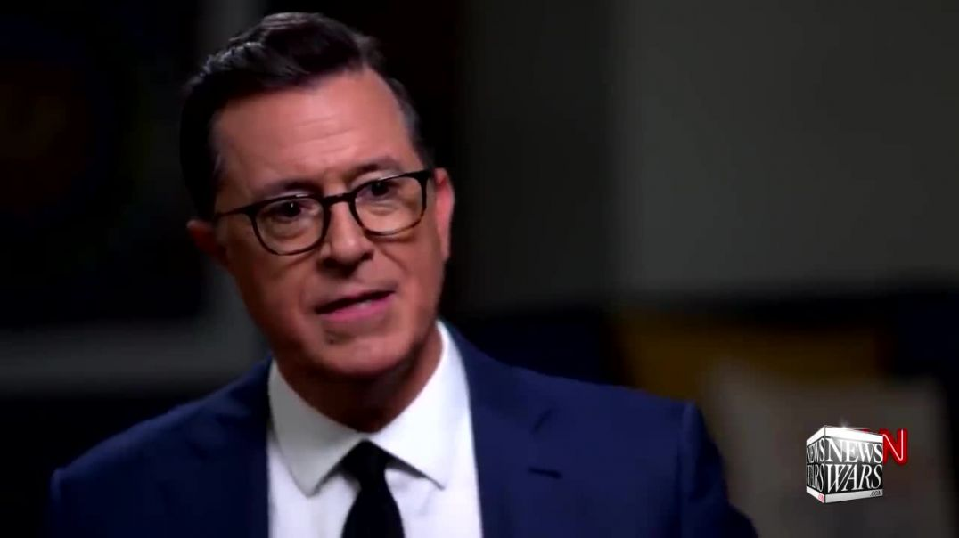 Colbert Succumbs To The Real Resistance