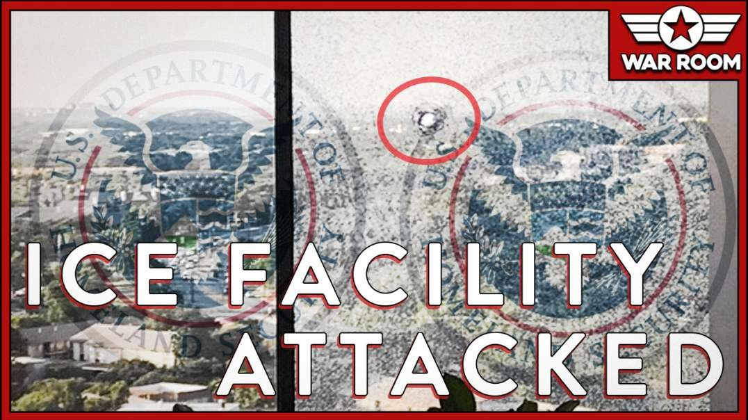 ICE Facilities Attacked Nation Wide, Political Rhetoric To Blame-.mp4
