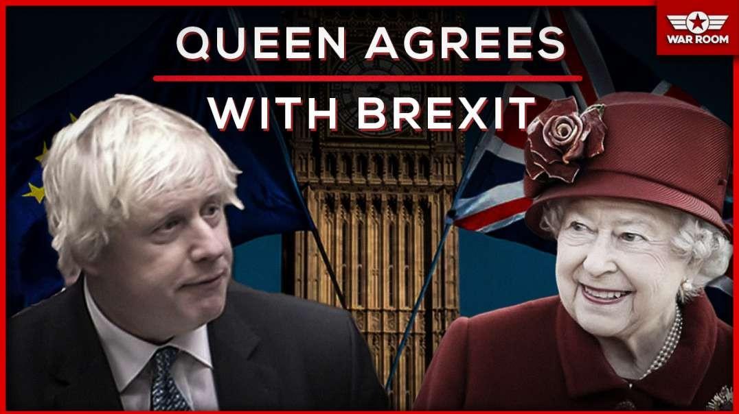 Queen Backs Boris Johnsons Brexit Plan