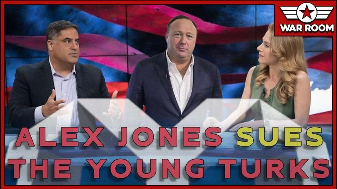 Alex Jones Announces He's Suing The Young Turks