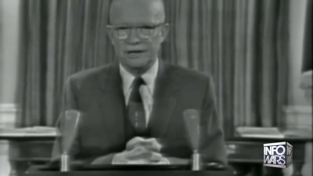 Eisenhower Warned The Technological Elite Will Hold Humanity Captive, It Came True - Must See