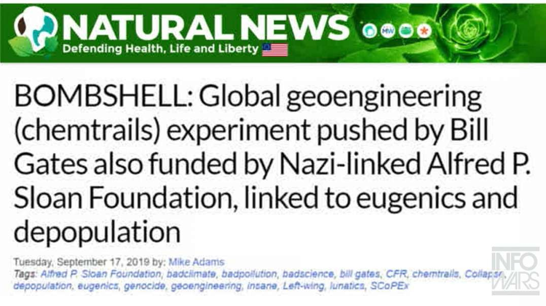 Bombshell! Documents Show Global Engineering Linked To Eugenics And Depopulation