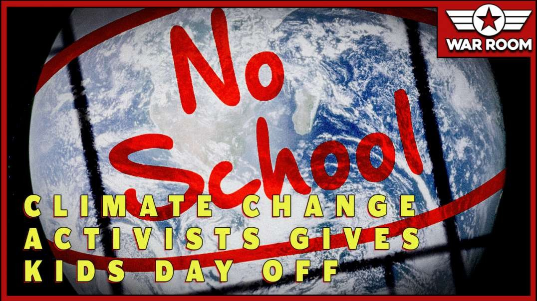 Climate Change Activsts Give Kids A Day Off School To Join Protest.mp4