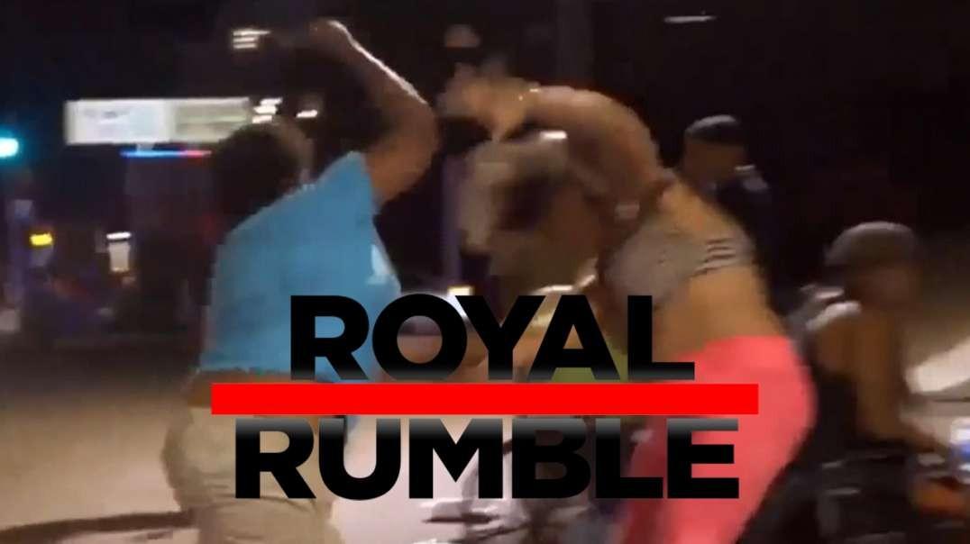 Infowars Presents- Austin Texas Bum Fights Royal Rumble!