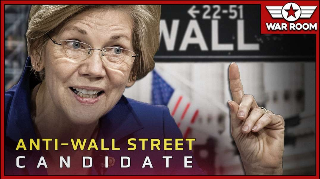 Establishment Pushes Elizabeth Warren As Anti-Wall Street Candidate