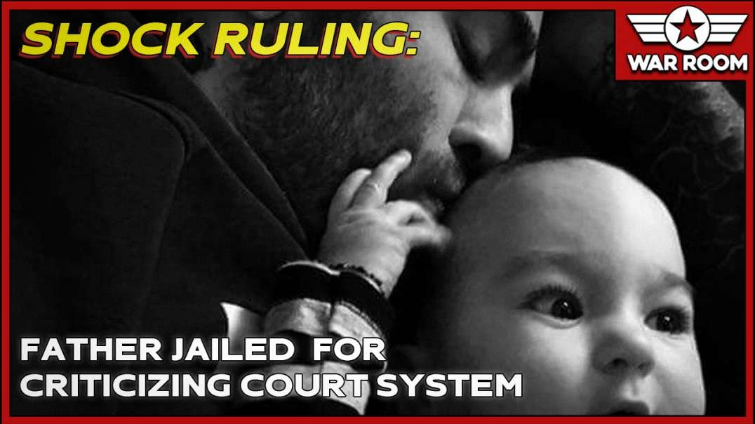 Shock Ruling- Father Jailed For Criticizing Court System!