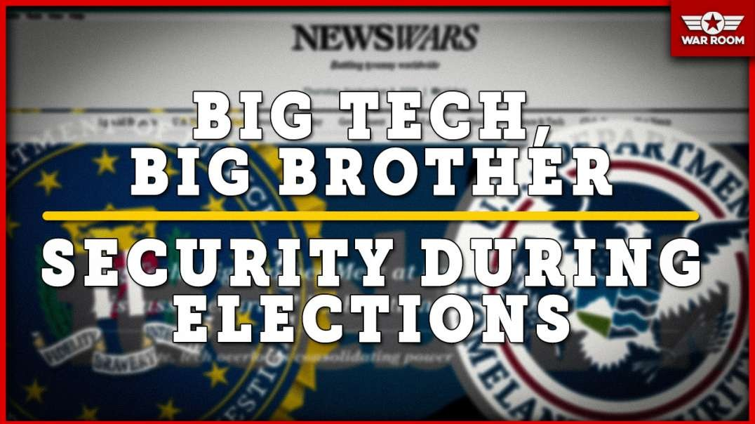 FBI And DHS Meet With Big Tech To Insure They Can Rig 2020 Election