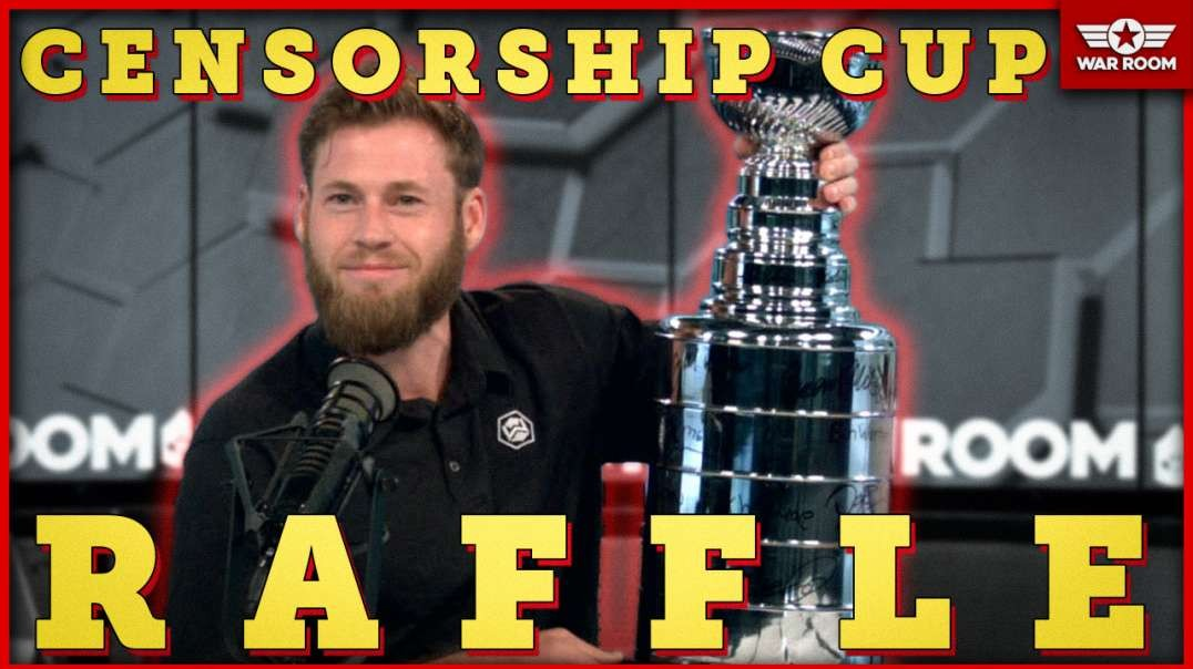 Owen Shroyer Announces Raffle Of The One And Only Censorship Cup!