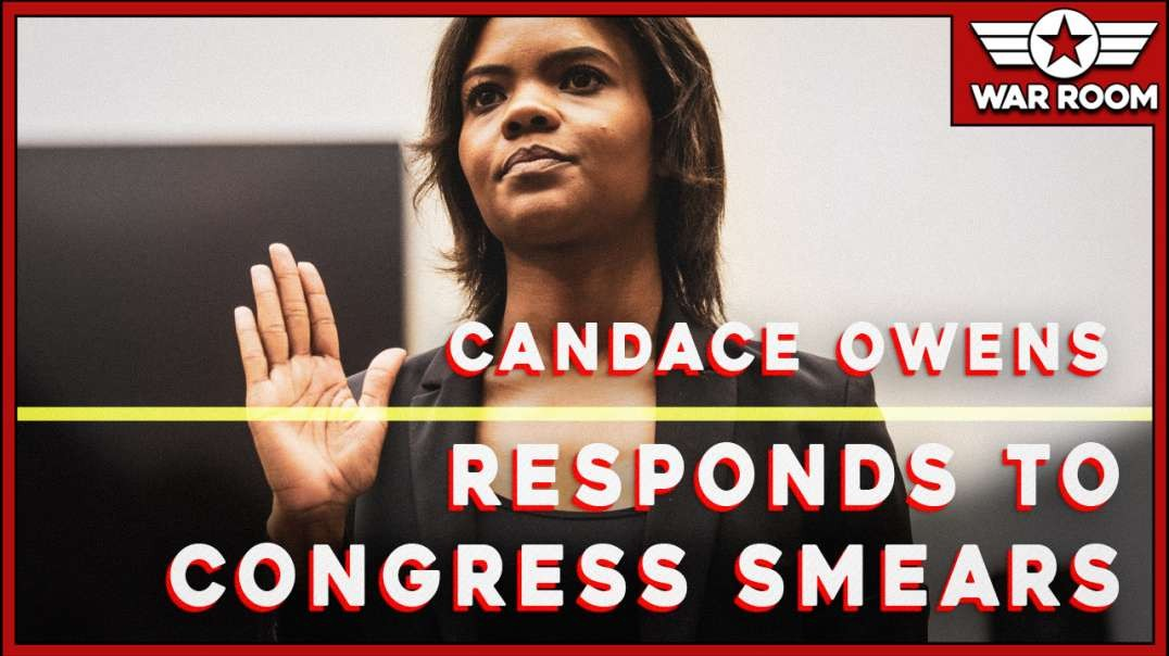 Candace Owens In Fiery Response To Smears In Congress