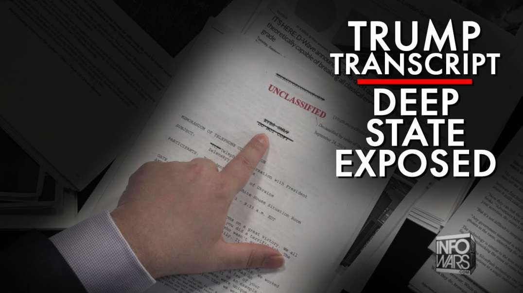 Deep State Exposed- The Truth About The Trump Transcript With Ukrainian President
