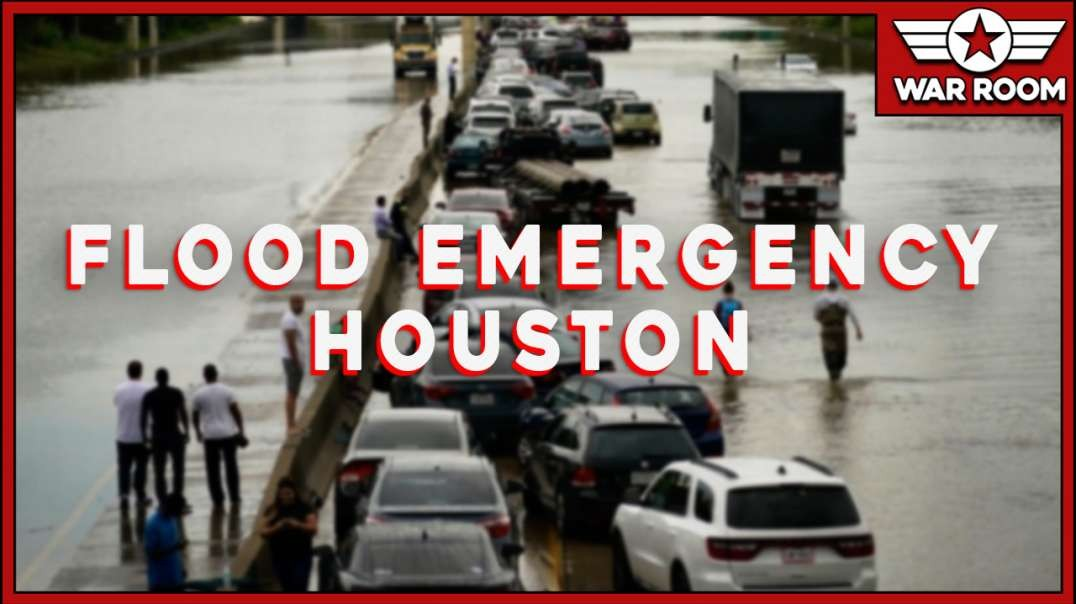 Houston's Socialist County Judge Incapable Of dealing With Flooding Emergency