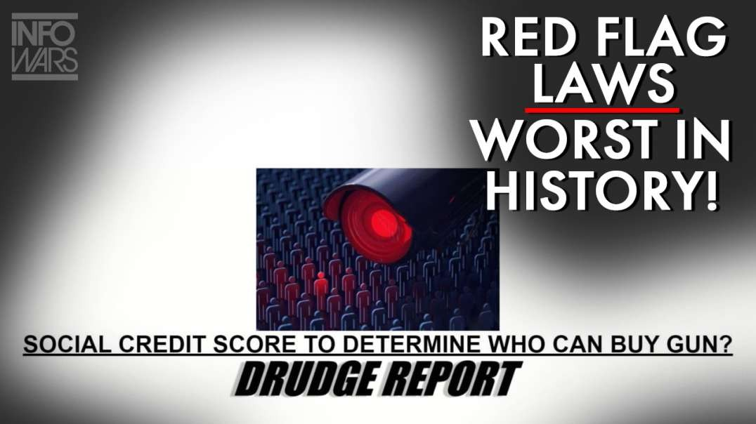 POWERFUL! Big Tech Red Flag Laws Worst In History