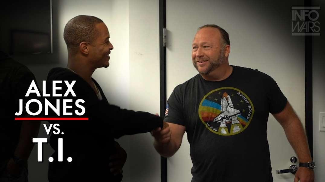 Alex Jones Confronts T.I. On Explosive Podcast