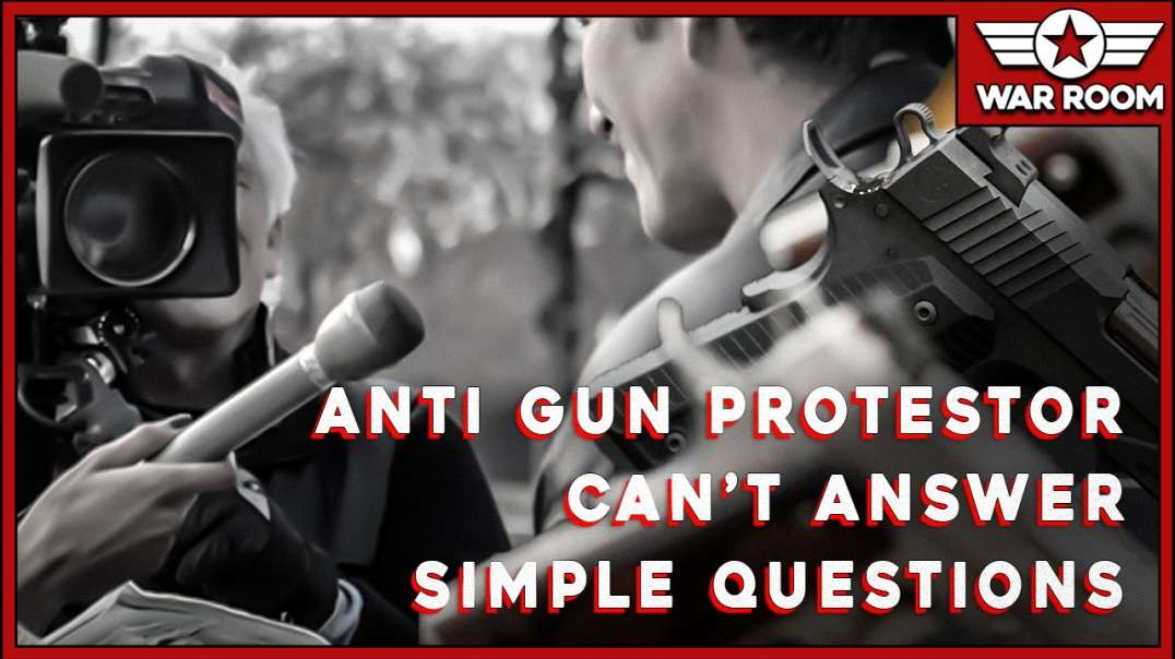 Protesters For Gun Control Can't Answer A Single Question