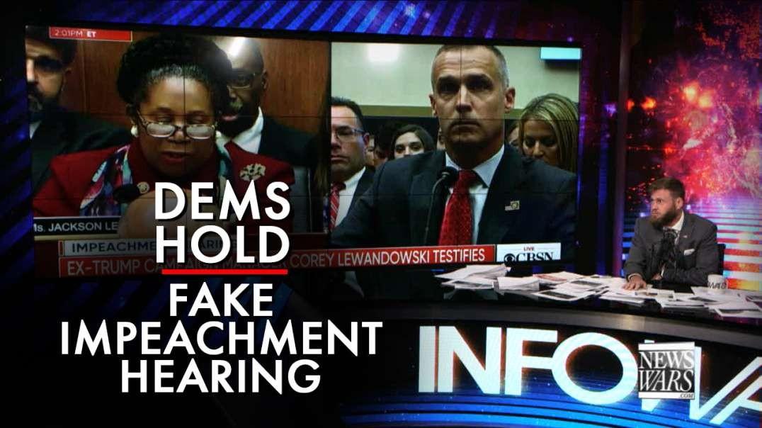 Democrats Hold Fake Impeachment Hearing And Attack Corey Lewandowski