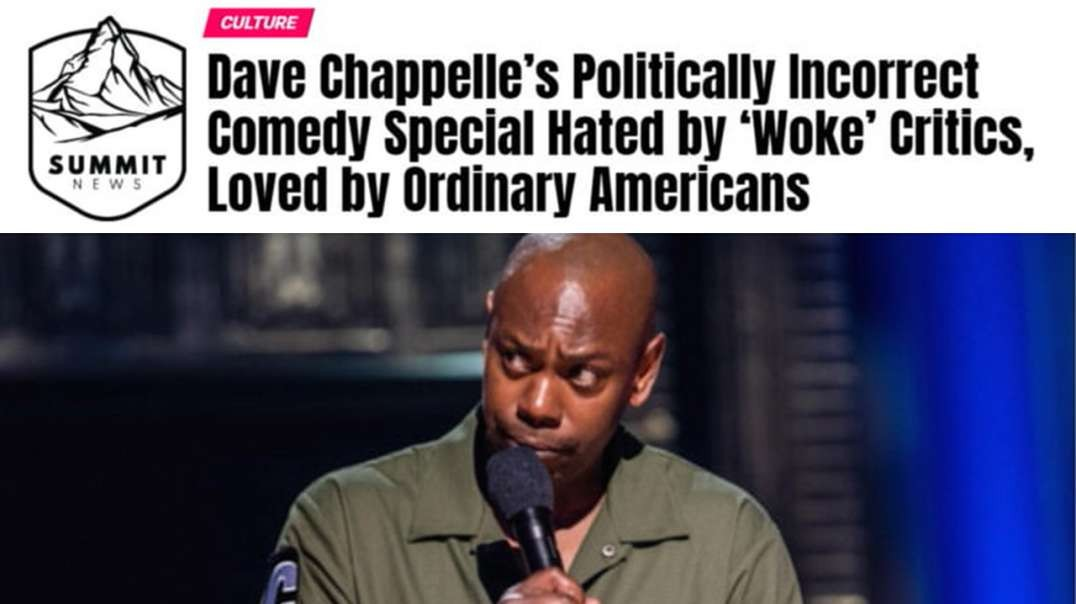 Thought Criminal Dave Chappelle Faces Down Leftist Control Freaks, And They Flip!