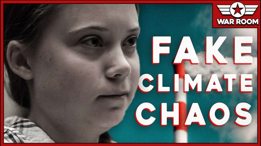 Fake Climate Chaos Propagandists Use 16 Year Old Girl As Puppet