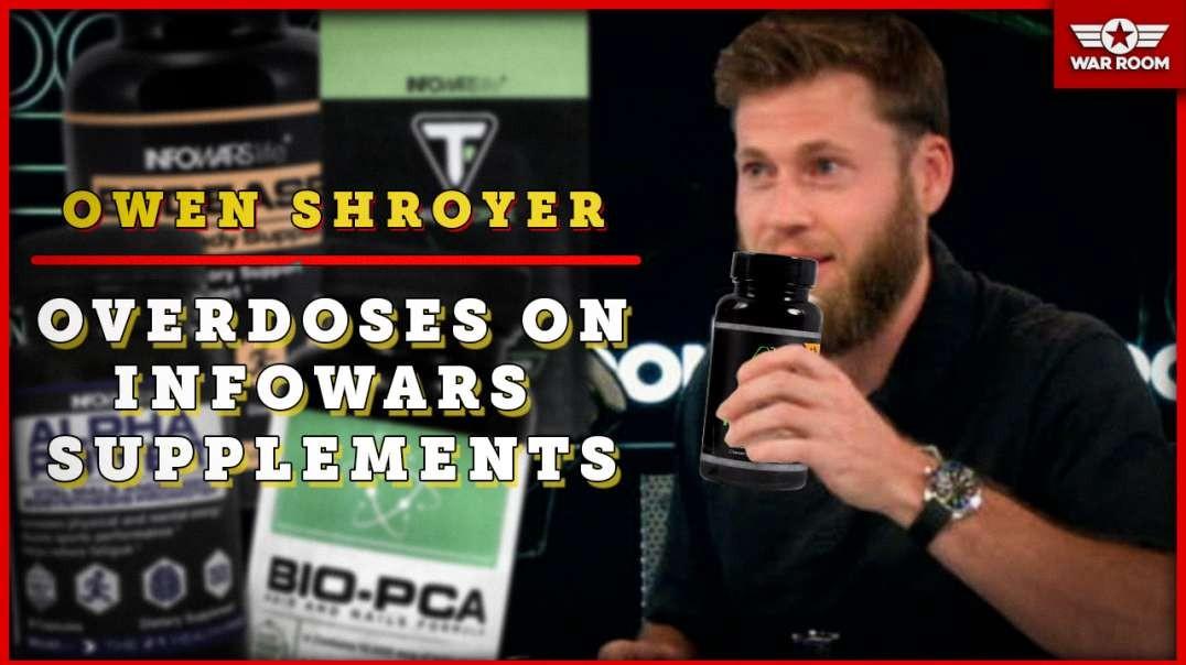 Owen Shroyer Overdoses On Infowars Supplements