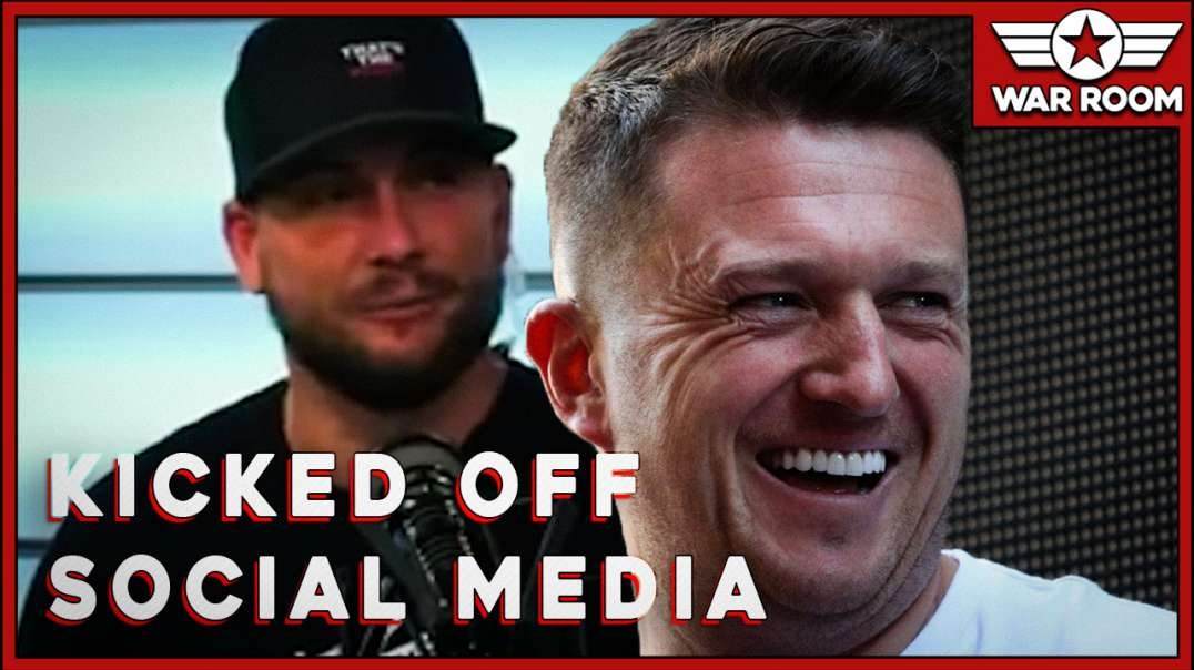 That's The Point With Brandon Kicked Off Social Media For Tommy Robinson Post