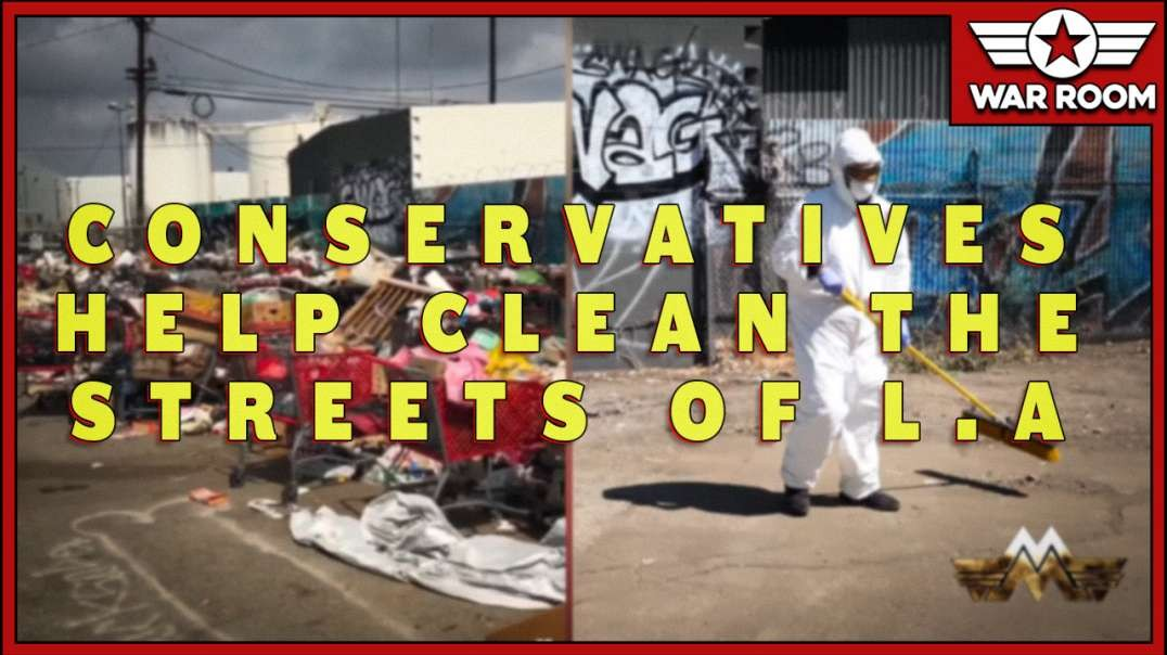 Shocking Before And After Images After Trump Supporters Clean Streets Of L.A