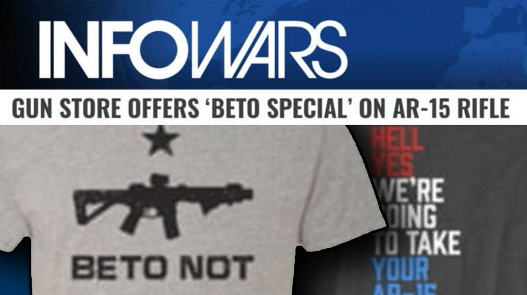 Beto O'rourke Gun Sale Special Sells Out In Hours