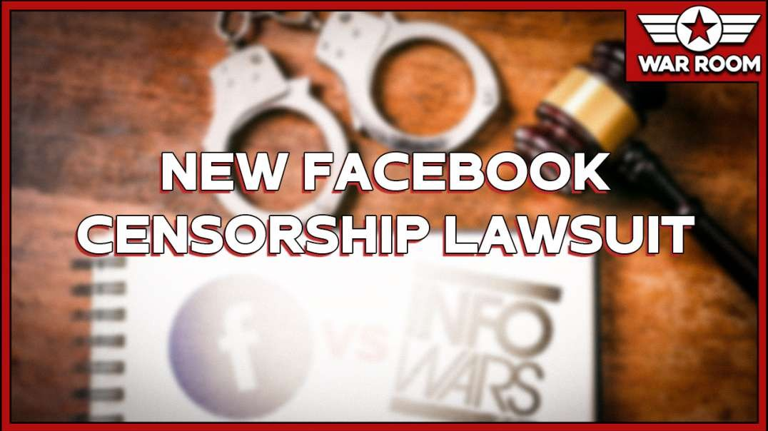 Infowars Targets Facebook With New Censorship Lawsuit
