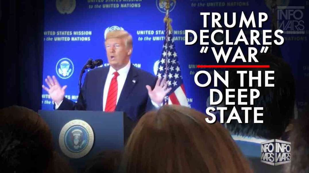 Secret Video Trump Says We Are At War With Deep State!