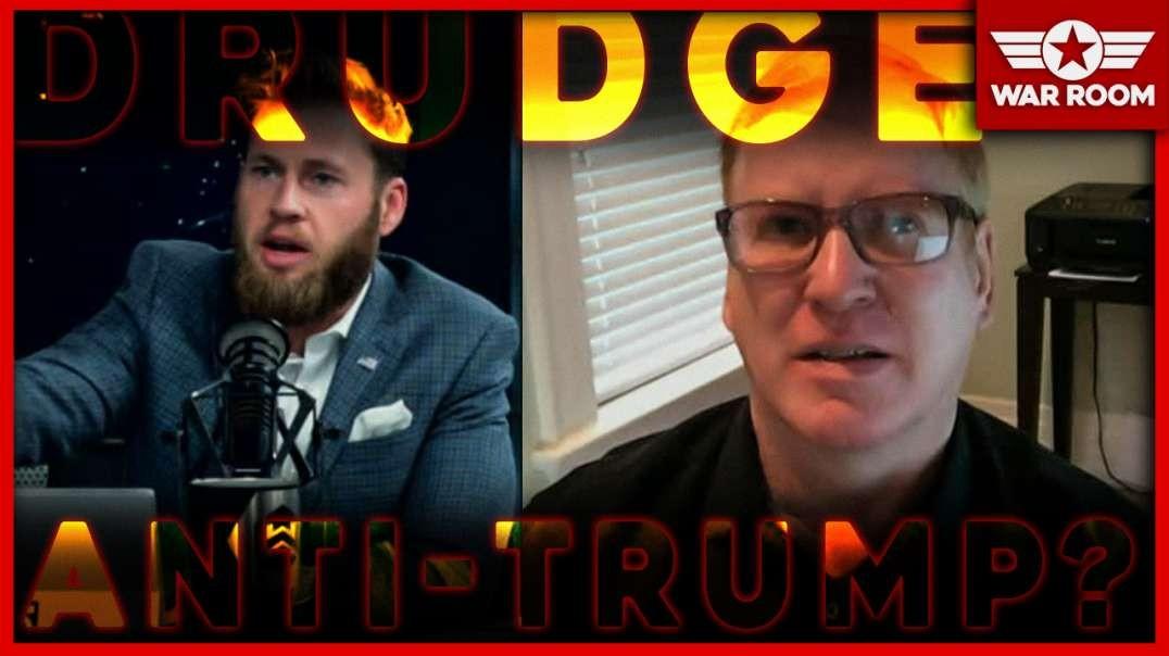 Is Drudge Anti-Trump? Jim Hoft And Owen Shroyer Debate
