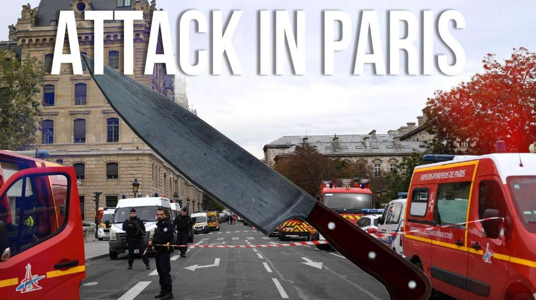 Knife Attack At Paris Police Station Comes One Day After French Police Strike
