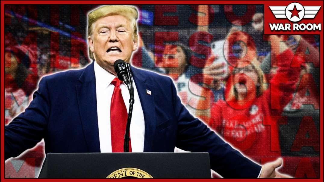 Massive Trump Rally In Minnesota Scares Democrats Before 2020