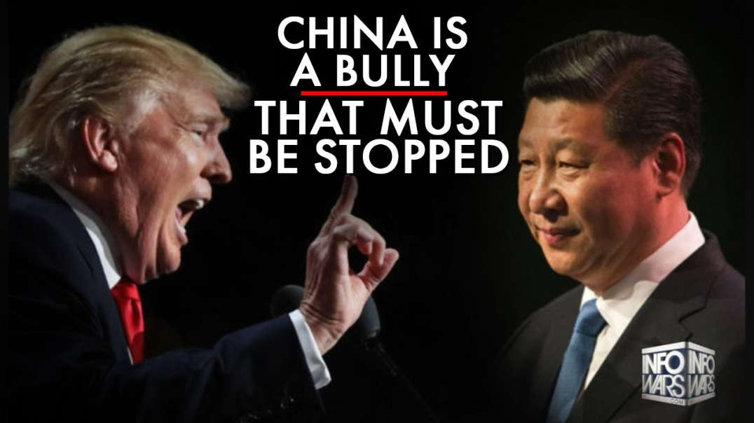 China Is The Biggest Bully In The World And Must Be Defeated