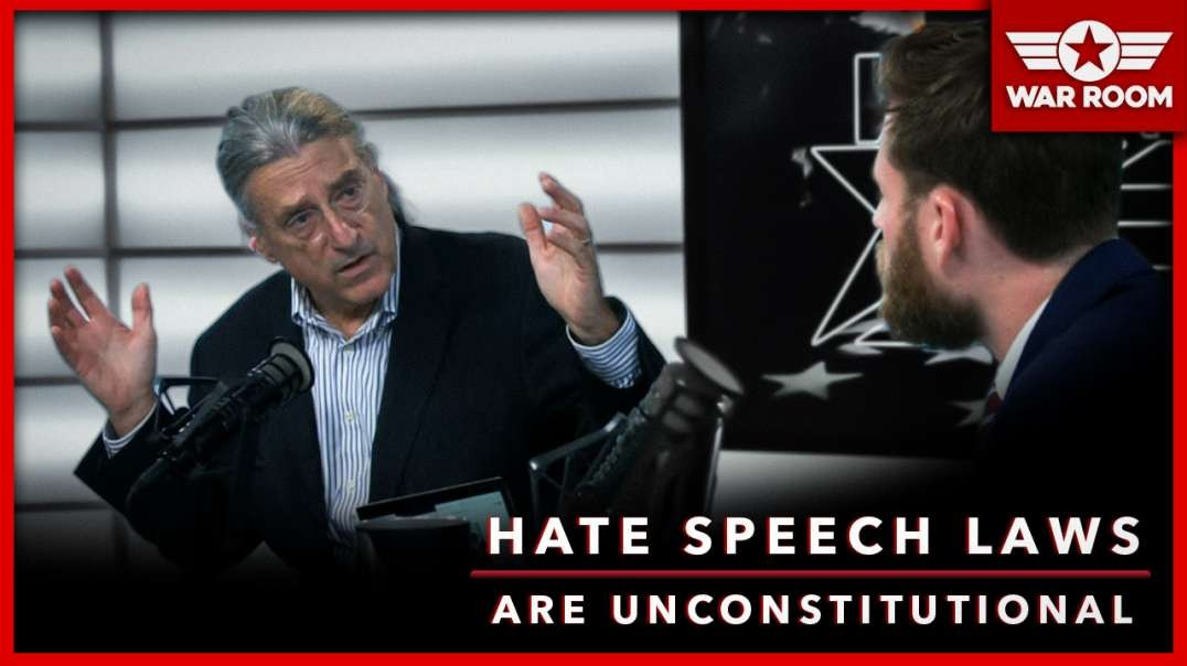 Constitutional Lawyer Argues Hate Speech Laws Are Unconstitutional