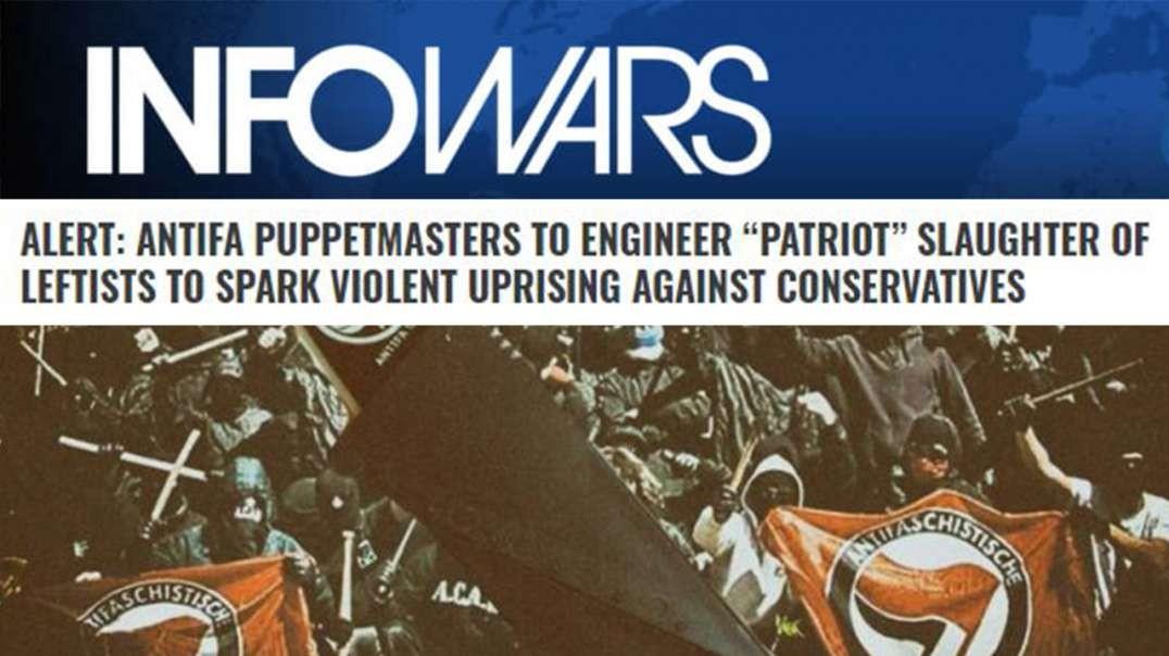 Patriots To Be Blamed For Leftist Engineered False Flag Attacks