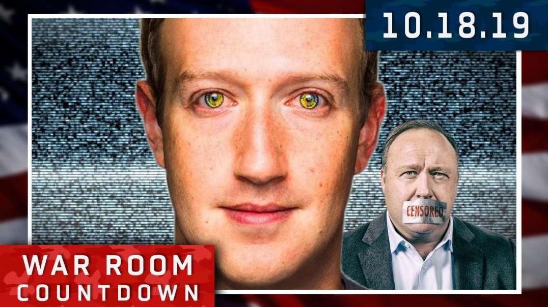 Countdown: Breaking! Facebook's Mark Zuckerberg Says Infowars Is UN-BANNED!