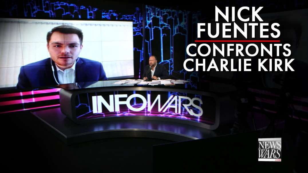 Learn Why Nick Fuentes Is Confronting Charlie Kirk Of Turning Point USA
