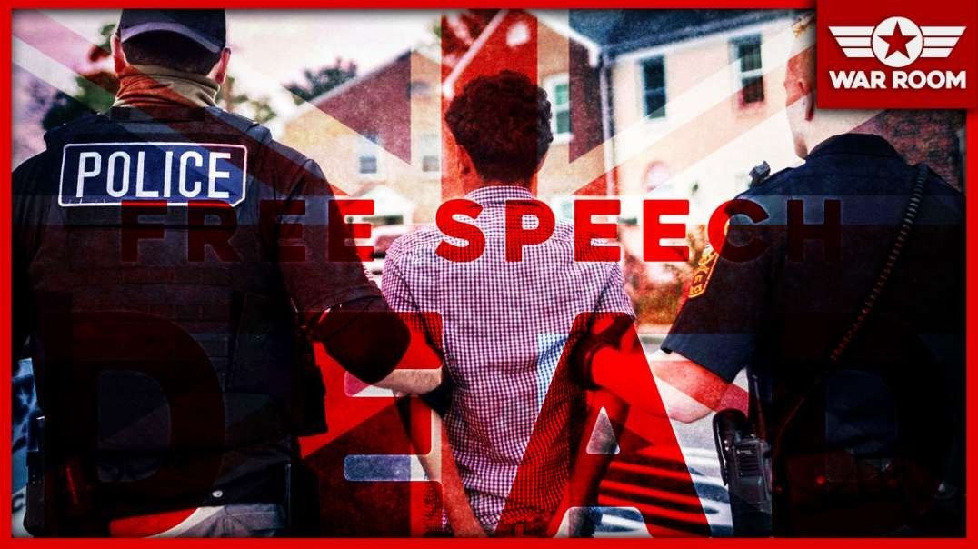Free Speech Dead In The UK: Political Activists Being Rounded Up And Arrested