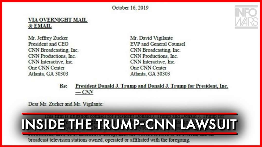 Inside The Trump-CNN Lawsuit