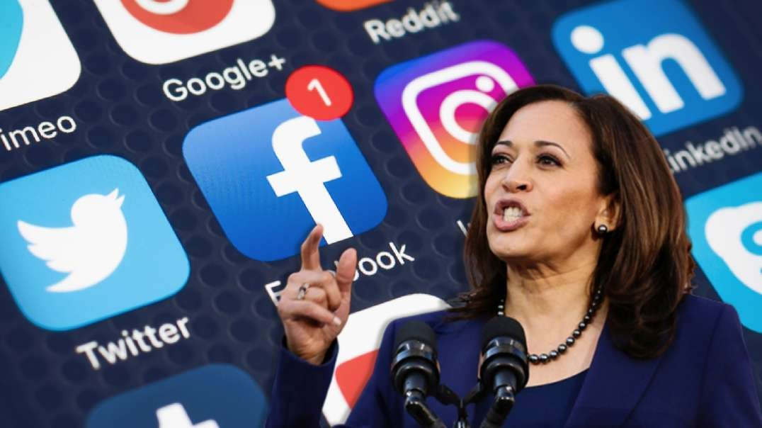 Kamala Harris Calls For Big Tech To Determine Who Is Worthy Of Free Speech