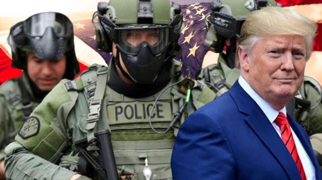 "Trump Pledges a ""Surge"" in Militarized Police State"