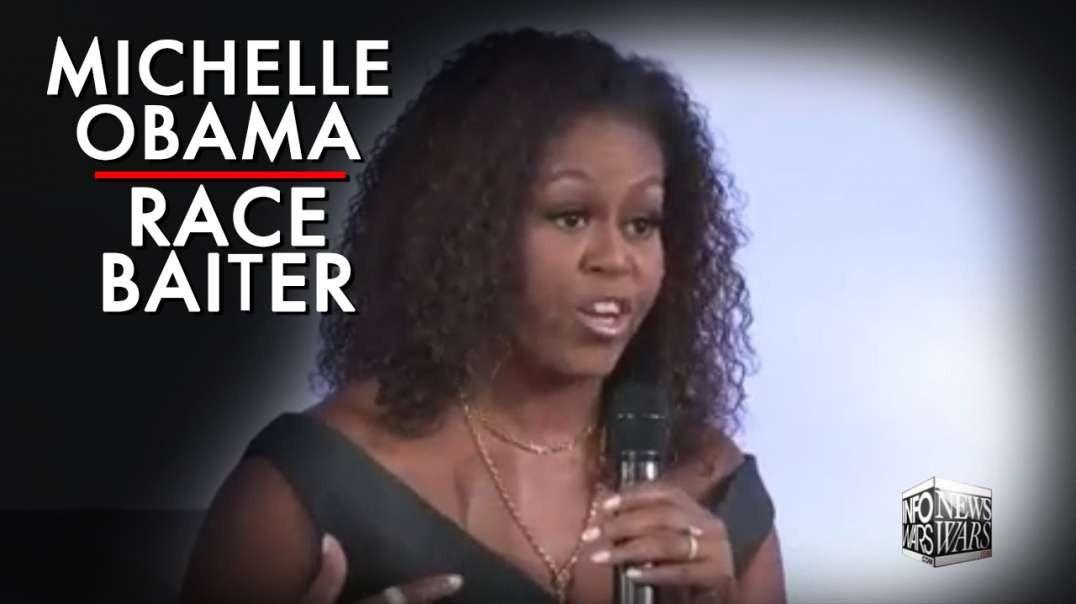 Watch Michelle Obama Spout Anti-White Racism