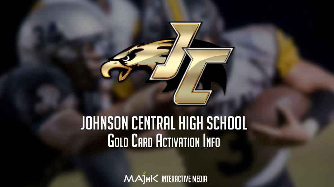 JCHS Gold Card Activation