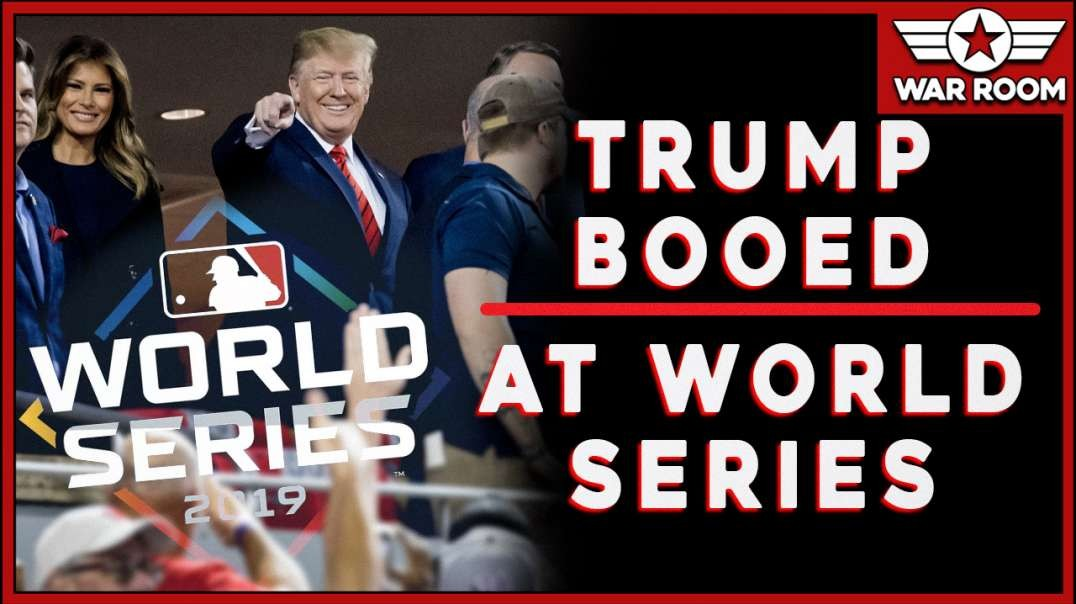 It's A Shame What MSM Has Done To America: Trump Booed At World Series